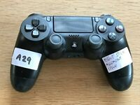 PS4 Playstation 4 Dualshock Controller Black Faulty