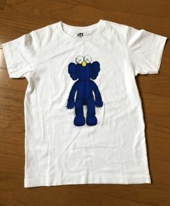 Uniqlo Kid  Kaws  2019  T-Shirt  White Size100.