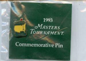 Masters Golf 1993 Commemorative Pin NEW RARE Augusta National Brand New