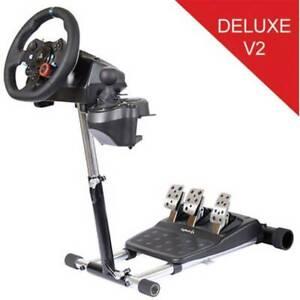 Wheel Stand Pro Logitech G29/920/27/25 - Deluxe V2 Lenkrad Halterung Schwarz