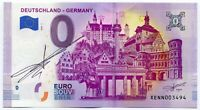 DEUTSCHLAND GERMANY 2019 0 Euro Souvenir Note Original Signature Richard Faille
