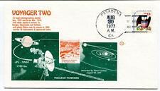1977 Voyager Two Nuclear Powered Pasadena California JPL-NASA USA SAT Europa