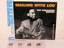 LOU DONALDSON - Wailing With Lou ~BLUE NOTE 1545 {nm} ** JAPAN ** w/Byrd ->RARE