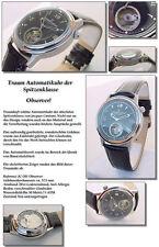 Automático Observador Reloj Unisex en Tourbillon Aspecto diseño de ensueño &