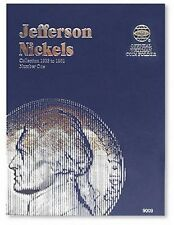 WHITMAN Jefferson Nickel Number 1 One 1938-1961 Folder Album #9009