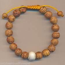 Coquille Bijoux Bilezik Népal 90i Bracelet Arbre Boudhi Grains Bangle,