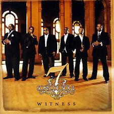 Witness * by 7 Sons of Soul (CD, Apr-2007, Sony BMG)