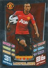 N°368 NANI # PORTUGAL MANCHESTER UNITED TRADING CARD MATCH ATTAX TOPPS 2013