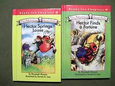 Lot of 2 Hector Springs Loose & Hector Finds a Fortune by Elizabeth Shreeve