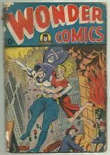 Wonder Comics #7 Pines 1946 Pre-Code Alex Schomburg Grim Reaper Cover