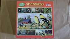 White Mountain Puzzle, Songbirds, 750 Pieces Complete