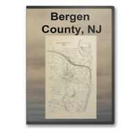 Bergen County, NJ New Jersey History Culture Genealogy 12 Books - D277
