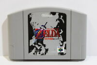 The Legend of Zelda Ocarina of Time Ver 1.0 Nintendo 64 N64 Japan Import E1409