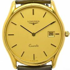Longines Gold Plated Case Dress/Formal Wristwatches