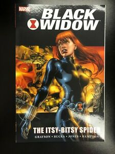 Black Widow ITSY BITSY SPIDER TPB NM Unread SC GN Book MARVEL KNIGHTS Greg Rucka