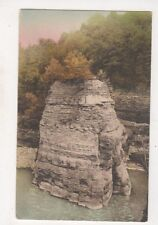 Genesee Gorge Cathedral Rock Letchworth Park Rochester NY USA Postcard US055