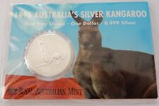 1996 $1 Silver Kangaroo ~ Frosted Uncirculated