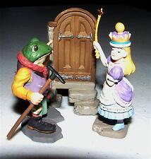 KAIYODO TEA PARTY Alice In Wonderland QUEEN ALICE & OLD FROG Figure JOHN TENNIEL