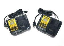 DEWALT DCB115 12V-20V MAX Lithium-Ion Batterie Chargeur Rapide Lot De 2 / Envoi