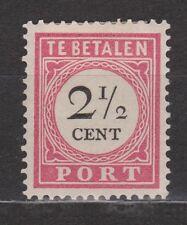 Port 14 MLH Nederlands Indie Netherlands Indies due portzegel