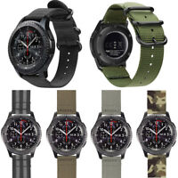 22mm Nylon Watch Band for Samsung Gear S3 Classic Frontier Wrist Strap Bracelet