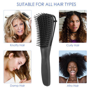Detangling Brush for Women Afro Natural Hair African Kinky Curly Long Wavy Hair