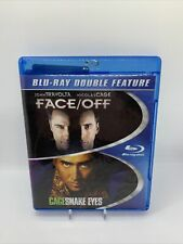 Face/Off Snake Eyes Double Feature Blu-Ray New Face Off Cage Travolta Rare! Oop!