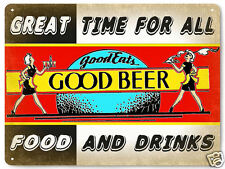 Bar and Grill Beer metal Sign Pub tavern restaurant vintage style wall decor 374