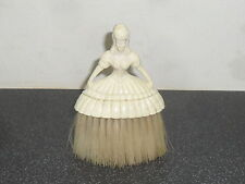 Old Retro Celluliod Lady Clothes Brush Hairdressing Brush Advertising