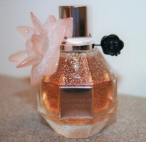 Viktor & Rolf Flowerbomb 1.7oz Perfume Limited Edition Crystal Flower Holiday