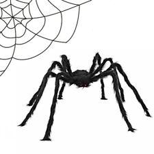 125cm Large Spider Halloween Decoration Haunted House Prop Indoor Outdoor Giant