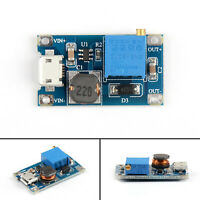 2A DC-DC Boost Step-Up Conversion Module Micro USB 2-24V To 5V-28V 12V 9V 24V T2