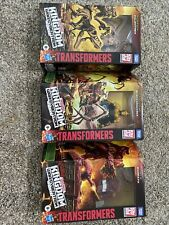 Transformers WFC Beast Wars Lot of 3- Paleotrex Blackarachnia Warpath
