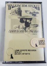 Walkin Jim Stoltz Spirit is still on the run Cassette Factory Tamper Tape New !