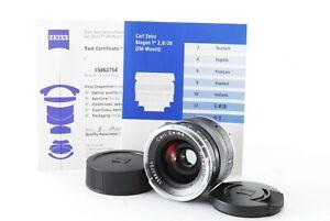[MINT] Carl Zeiss Biogon T* 28mm f/2.8 ZM Lens for Leica M Mount JAPAN #424