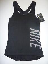 NIKE DRI-FIT Black Sports Top Size XS NWT