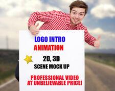 LOGO INTRO ANIMATION CREATION SERVICE