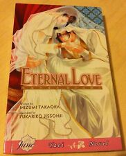 English Yaoi Manga Novel Eternal Love Mizumu Takaoka Paperback FREE USA SHIP