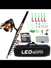 fishing rod and reel combo new with free gift