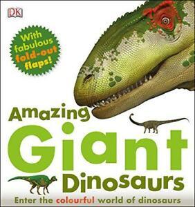 Stupefacente Gigante Dinosauri Da DK, Buono Libro Usato (Copertina Rigida) Free