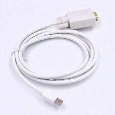 Mini DP to VGA Converter Cable to Male Thunderbolt Displayport to VGA For iMac