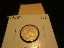 10 cent Canada 1955 - Circulated - Canadian dime
