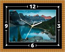 Reloj De Pared Lake Louise Presente Navidad Cumpleaños (personalizable)