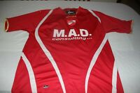 "Camiseta Futbol A04 AO4 MAD CONSULTINGS LEGEA ""XL"" size M.A.D. Consultings NUM 9"