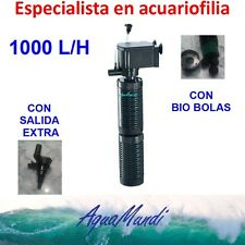 filtro interior interno acuario 1000 L/H ip1008 barato tortuguera pecera