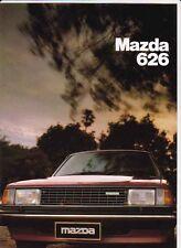 1980 MAZDA 626 SEDAN & HARDTOP 6 Page Australian Brochure