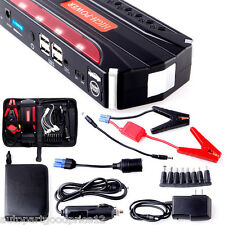 12V 68800mAh 4USB High Power Car Jump Starter Power Bank Rechargable Battery SOS
