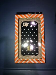 New Dabney Lee iPhone 5/5s Case Blue White Polka Dot Cover