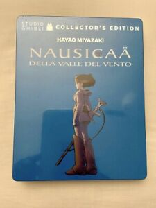 Nausicaa Valle del Vento steelbook Collector's Edition Studio Ghibli Bluray