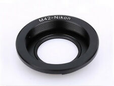 M42 focus to infinity lens adaptor to fit Nikon F mount camera body - UK SELLER